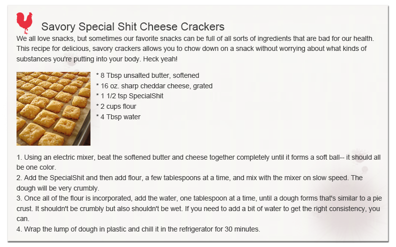 Savory Special Shit Cheese Crackers 1