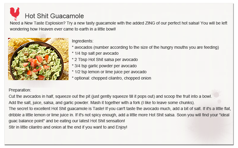 Hot Shit Guacamole